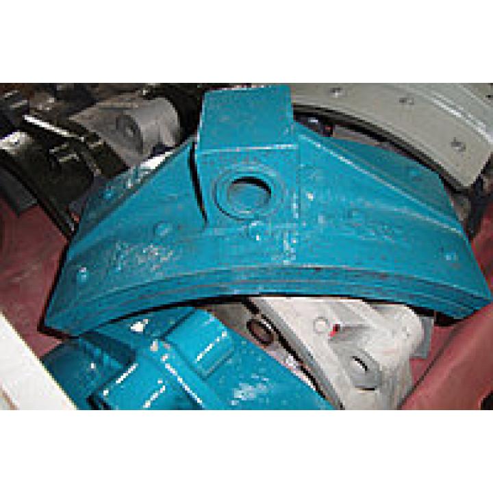 Тормозная колодка РДК-250 (главный/вспомподъем) - РДК-250