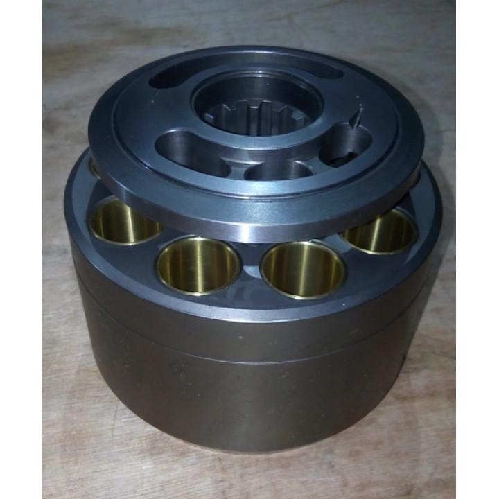 Блок цилиндров с распределителем для гидравлического насоса K3V112 -