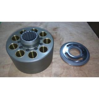Блок цилиндров с распределителем для гидравлического насоса K3V140