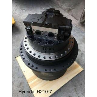 Редуктор хода Hyundai R260LC-9 с мотором