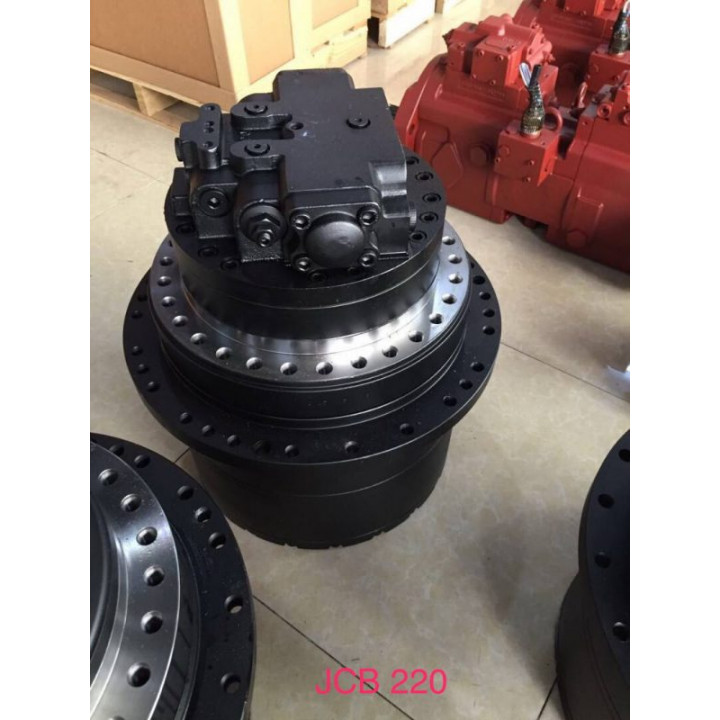 Редуктор хода с мотором Doosan DX225 -