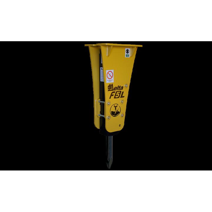 Гидромолот Delta F-5L для минипогрузчиков -